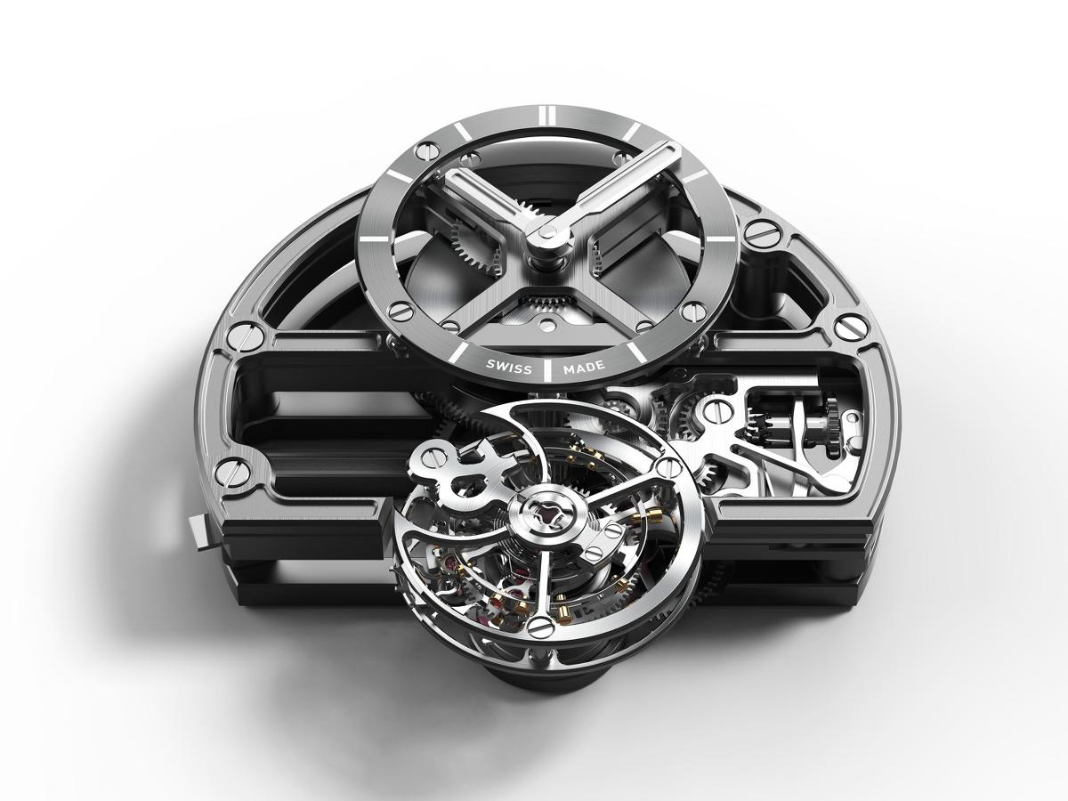 Movimento Bell & Ross BR-X1 Skeleton Tourbillon Sapphire